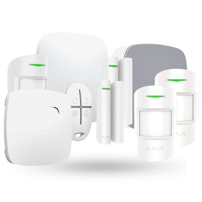 Sistema de alarma gsm y lan ajax kit negocio plus - Sistema de alarma gsm ...