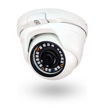 Cámara de vigilancia domo exterior FULL HD Lente 3.6mm IR 20m REVISOR BLANCA