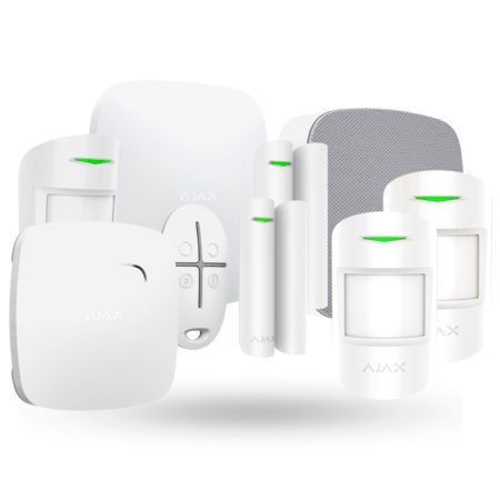 sistema de alarma gsm y lan Ajax Kit Negocio Plus