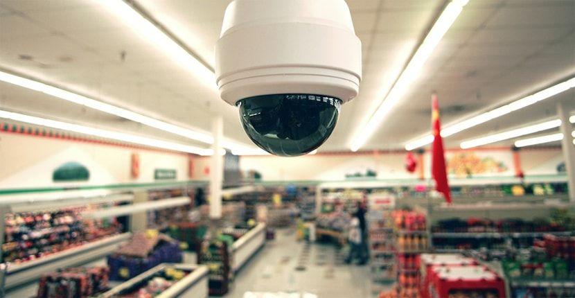 Control de cámaras en supermercados