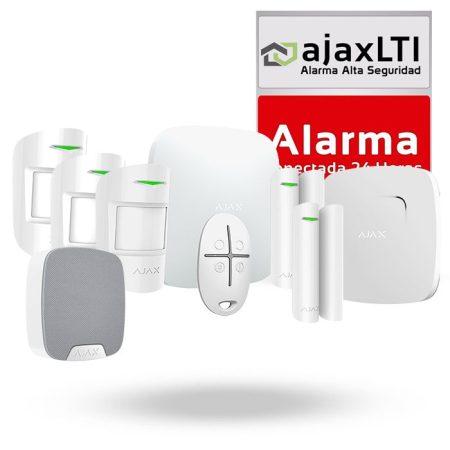 sistema de alarma gsm y lan ajax negocio plus