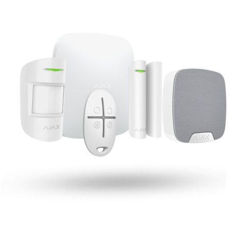 kit sistema de alarma ajax con sirena inalámbrica