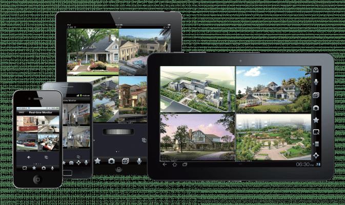 visualizacion remota desde cualquier dispositivo - pack videovigilancia 4 cámaras