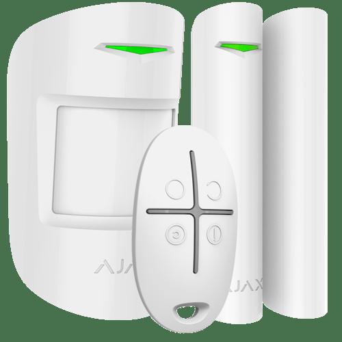 sistema de alarma inalambrica ajax kit oficina sin cuotas mensuales