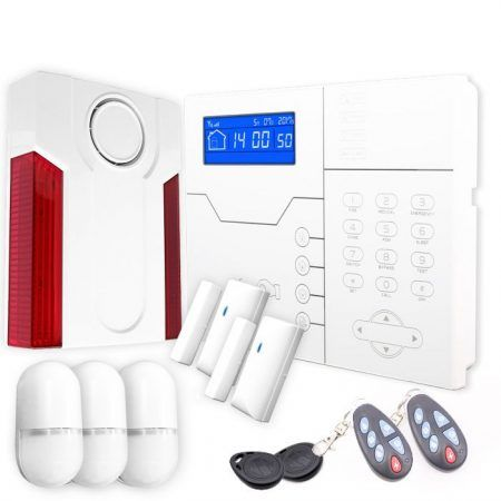 kit pareado sistema de alarma para casa sin cuotas safe sure