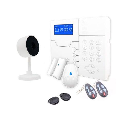 sistema de alarma safe sure y cámara de vigilancia ip wifi