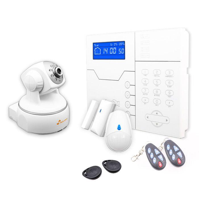 Kit sistema de alarma con c mara ip con grabaci n y movimiento - Camaras de vigilancia con grabacion ...