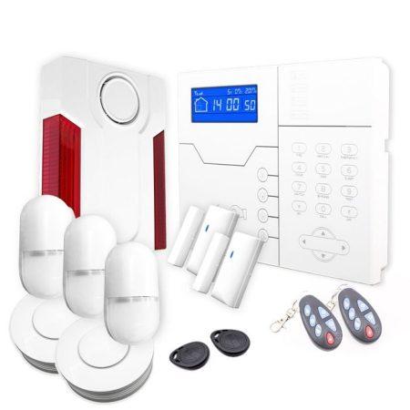 sistema de alarma para chalet