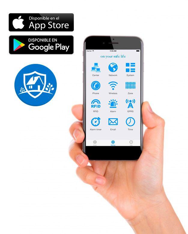 ST PANEL App sistema de alarma Safe Sure