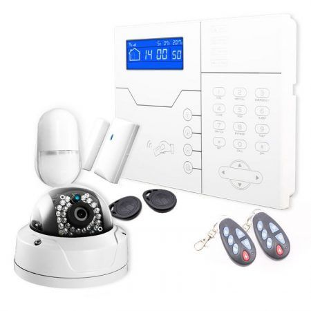 Sistema de alarma con cámara IP