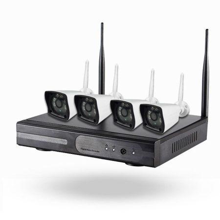 Kit Nivian 4 cámaras IP con grabador
