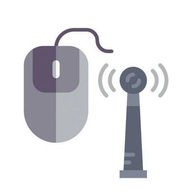 Raton, antena y manual