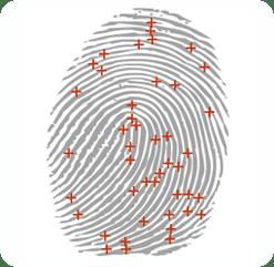 Lector Biométrico de Huella digital y tarjetas T5PRO Lateral Huella