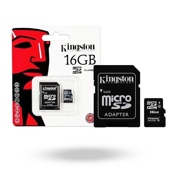 tarjeta de memoria microsd 16 gb
