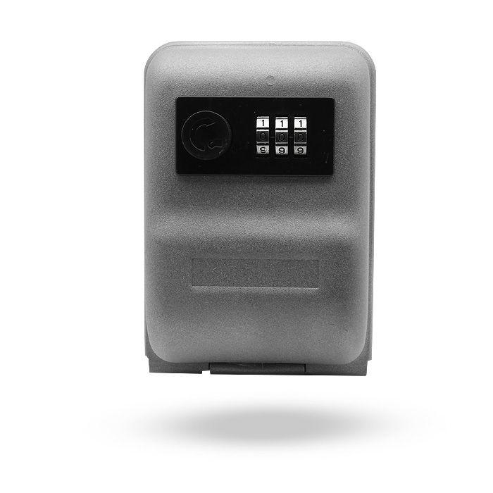 Caja de seguridad para llaves con candado de combinación para control de accesos