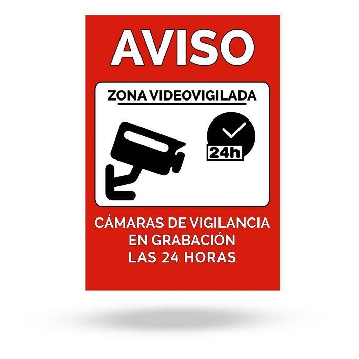 Cartel disuasorio de videovigilancia la tienda inteligente - Cartel de videovigilancia ...