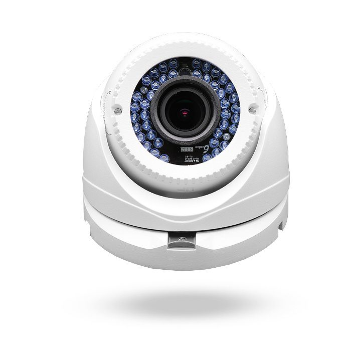 Cámara de seguridad varifocal Full HD con sistema de alimentación PoC DEIMOS