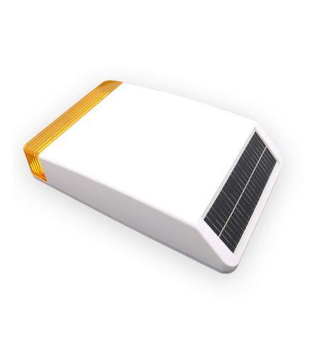 Sirena solar exterior inalámbrica alarma safe sure