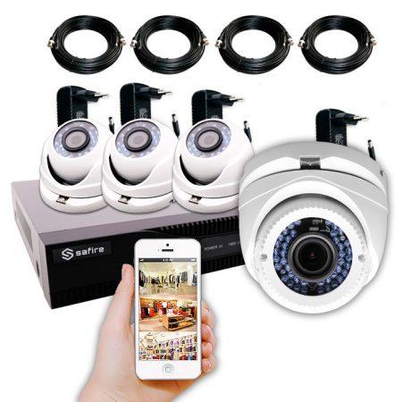 Kit videovigilancia bazar para tiendas