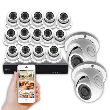 kit cctv 16 cámaras COMUNIDAD 16 CAMARAS