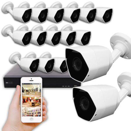 kit cámaras de seguridad Taller