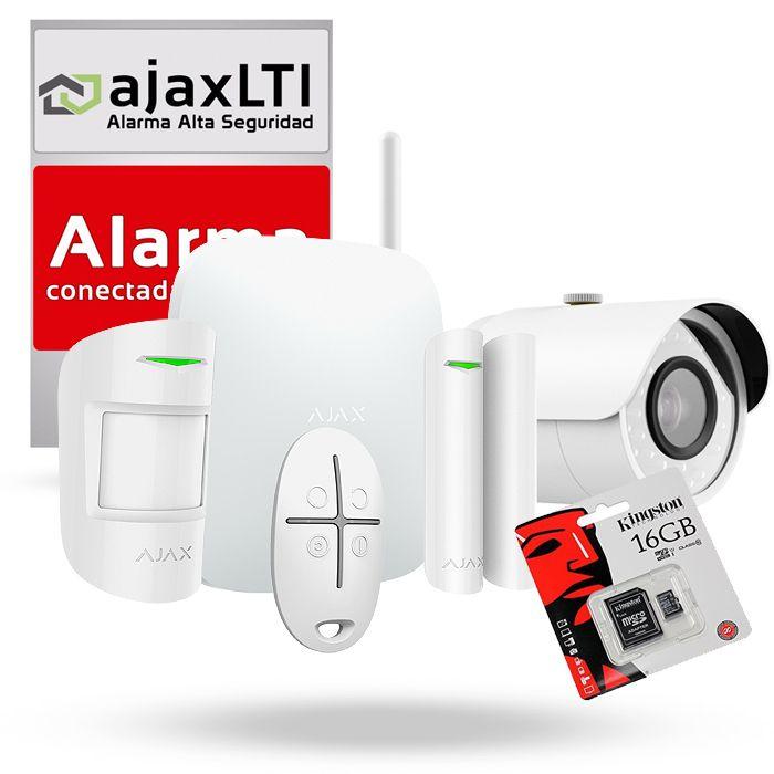 Kit Alarma con videovigilancia AJAX