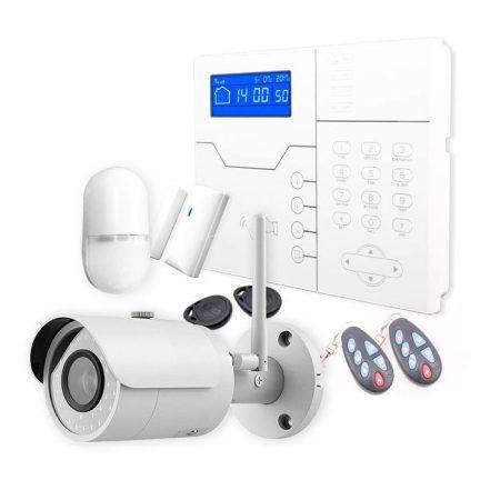 Kit Safe Sure con cámara wifi exterior con grabación