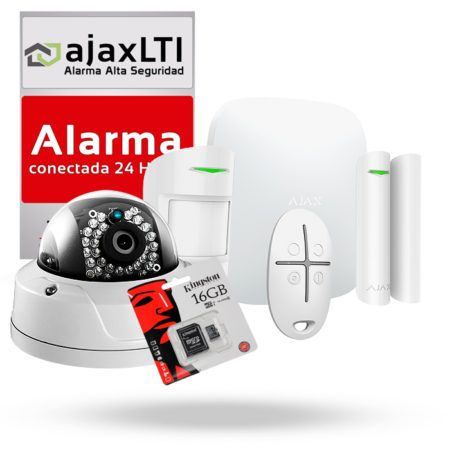 Kit Alarma con videoverificación Ajax