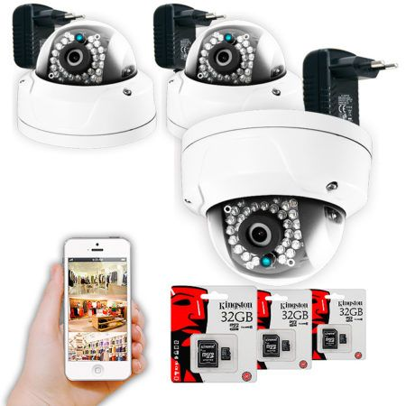 Kit Vivienda cámaras de vigilancia wifi