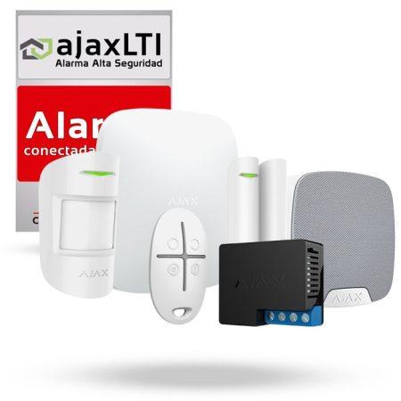 Kit ajax de alarma con sistema domótico del hogar