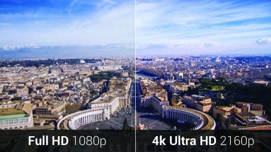 resolución 4k uhd