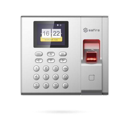 Control de Presencia laboral por huella, tarjeta y teclado SAFIRE STATE