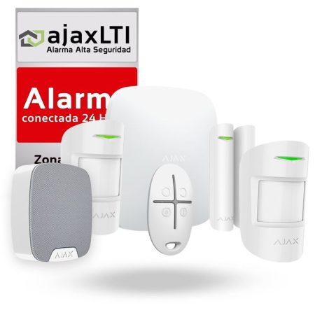 sistema de alarma sin cuotas Ajax Kit Negocio