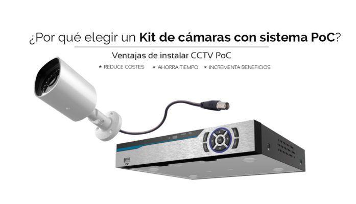 Kit de cámaras con sistema PoC