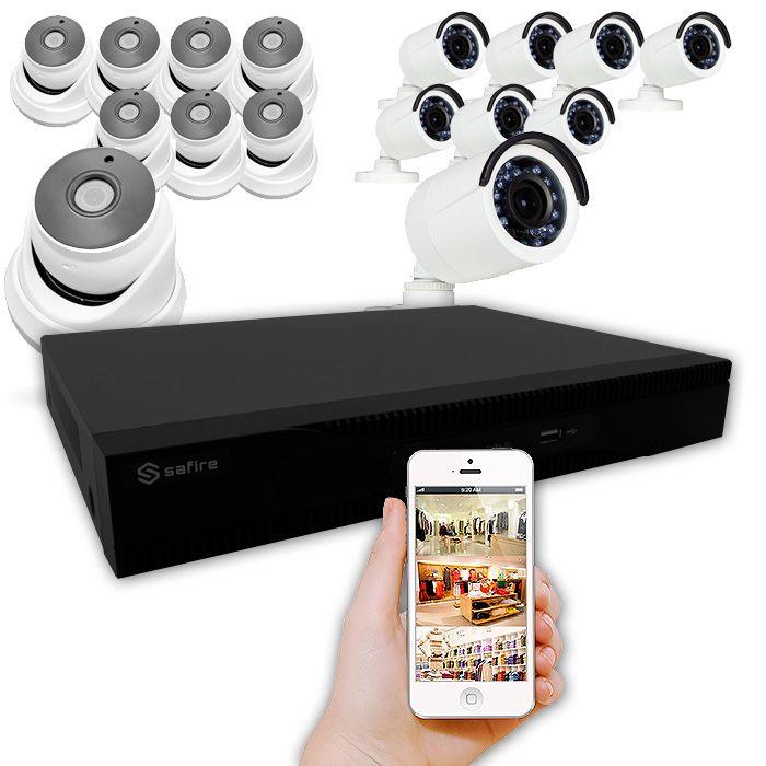 Kit de cámaras con sistema poc lente varifocales y fijas