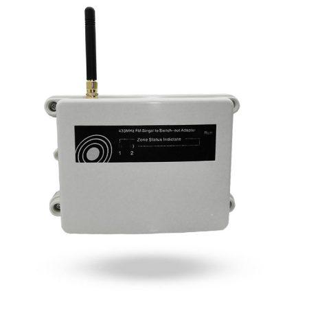 Receptor de barrera solar infrarroja