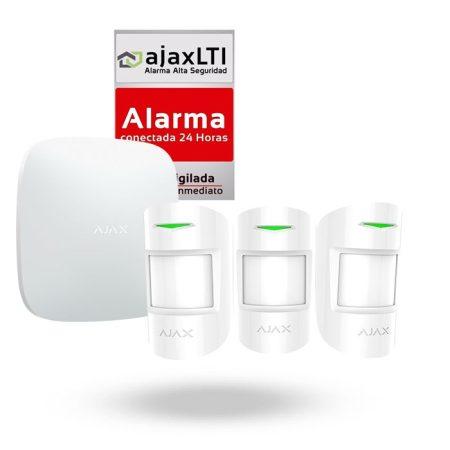 Alarma con sensor de movimiento para casa AJAX KIT TRIPLE PIR