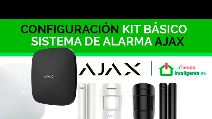 Configuración kit basico alarma ajax