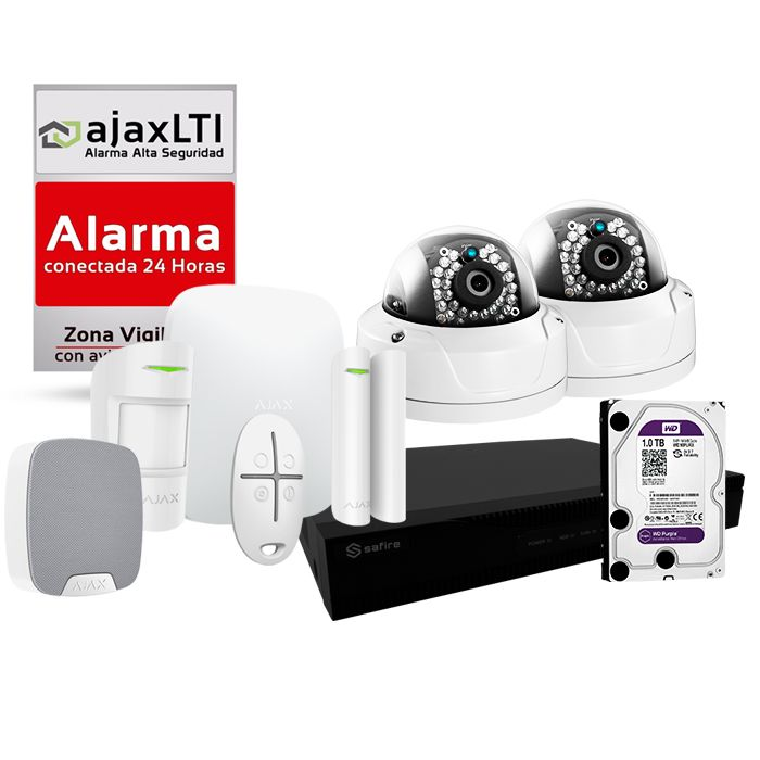 Kit Ajax de alarma con cámaras para casa VideoKit2