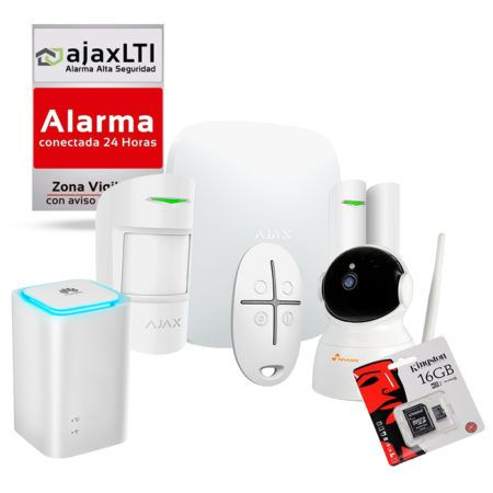 Kit AJAX Sistema de Alarma Anti Okupas