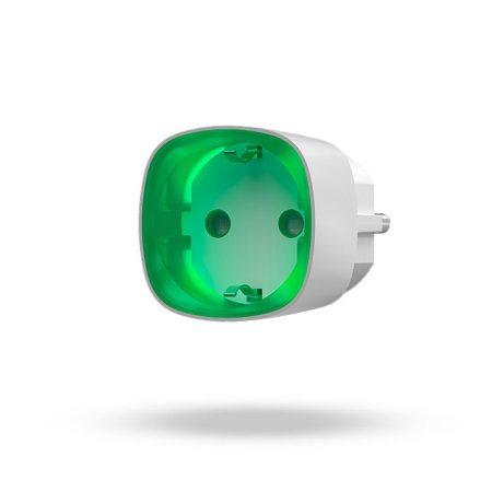 Enchufe inteligente inalámbrico con monitor de energía para alarma Ajax Socket
