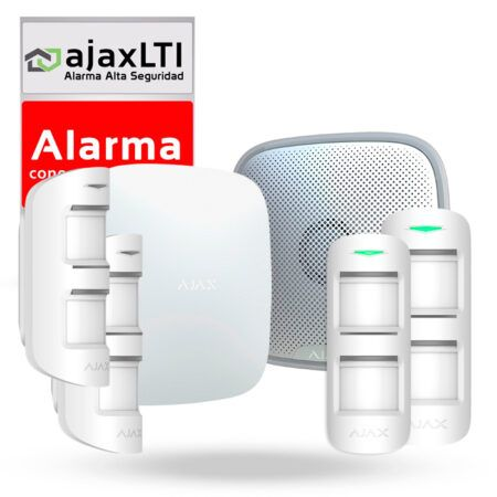 Kit autoinstalable alarma perimetral para exterior - KIT AJAX PERIMETRAL