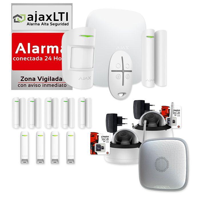 Mejor alarma del mercado 2020 - AJAX KIT PROTECCIÓN MÁXIMA