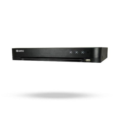 Grabador CCTV 8 canales análogos hasta 16 cámaras IP - SAFIRE TIN