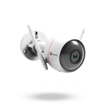 Cámara IP Wifi Exterior con sirena, luces flash y grabación para DISUASIÓN PRO - C3W ezGuard