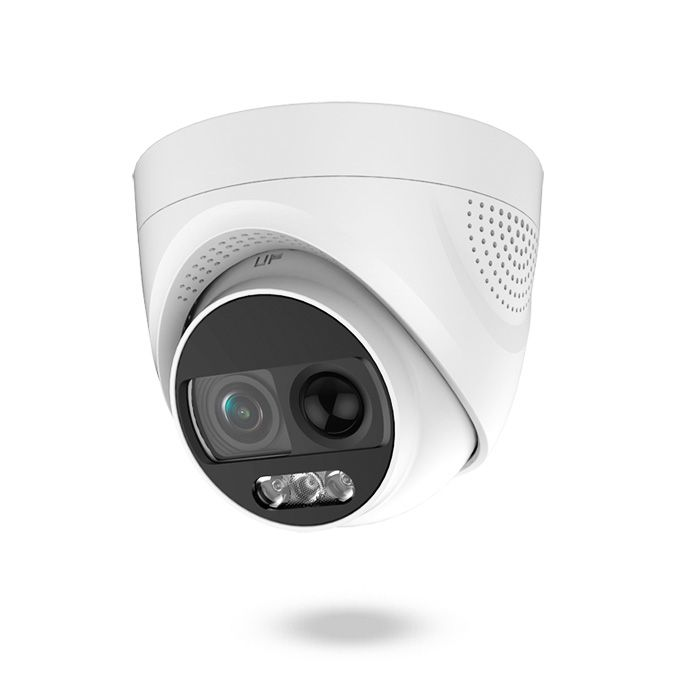 Cámara con sensor de movimiento real y sirena con flash policial para disuasión activa - SAFIRE OSPREY PIR