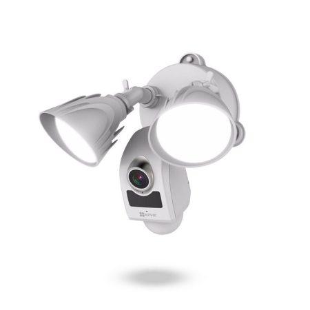 Cámara de seguridad inteligente WiFi con PIR, sirena, audio, luces y grabación - EZVIZ LC1