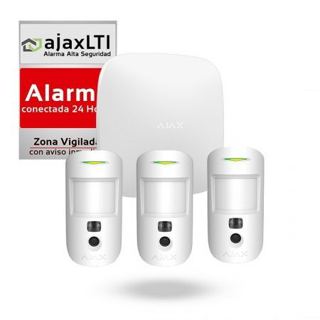 alarmas para negocio Kit Alarma Triple Ajax Motion Cam