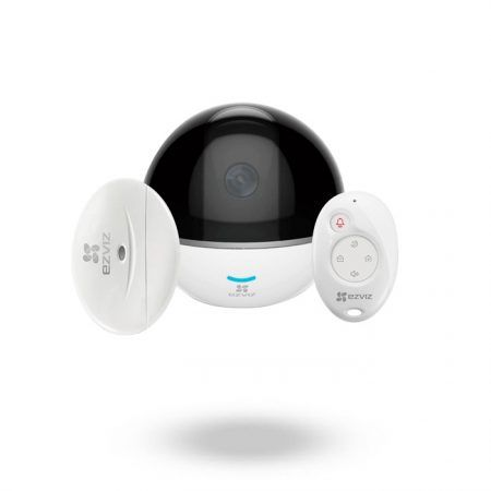 Kit de Cámara IP con alarma para sensores EZVIZ