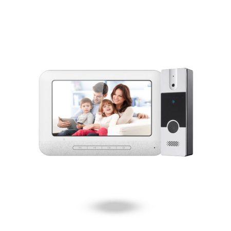 Kit videoportero para unifamiliar de 4 hilos con tecnología analógica - KIT NIVIAN ENIRO